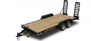 Wood Equipment Trailer