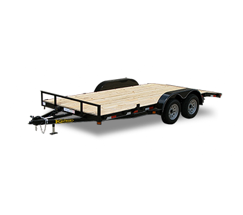 Wood Flatbed Utility Trailer