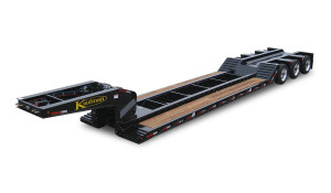 55-Ton-50ft-Detachable-Gooseneck-Drop-Rail-Air-Ride-Trailer