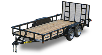 Tandem Axle Landscape Utility Trailers