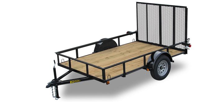 Basic 2990 GVWR Single Axle Utility Trailers