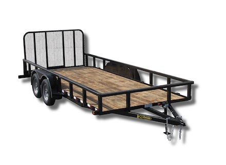 Tandem B 1Cutout1 deluxe landscape utility trailer 8000 gvwr by kaufman trailers 4 Prong Trailer Wiring Diagram at bayanpartner.co