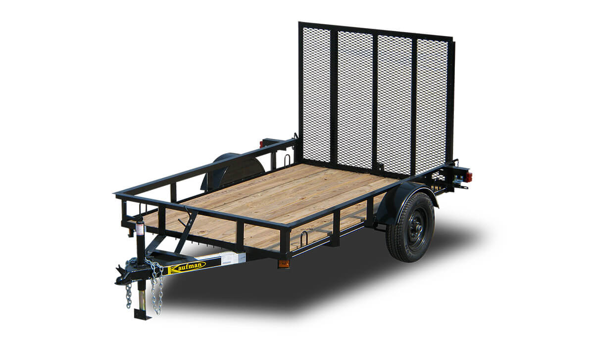 Home Depot Flooring Financing Basic 2000 GVWR Single Axle Utility Trailers by Kaufman ...