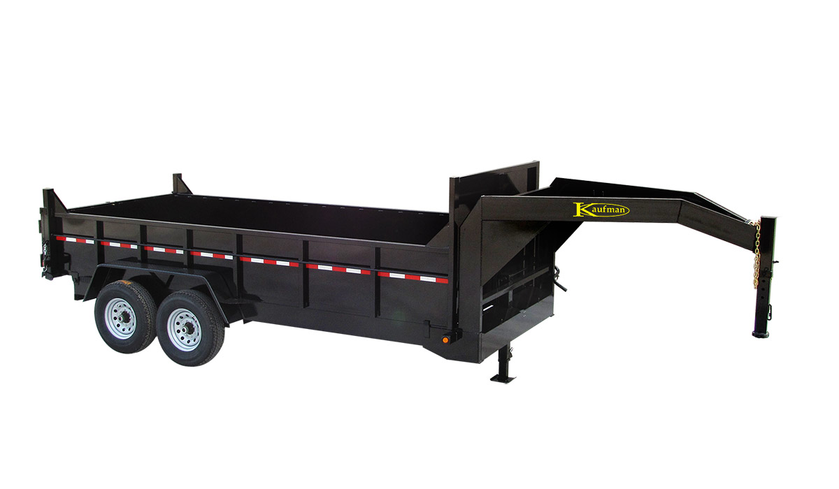 Heavy Duty Gooseneck Dump Trailers For Sale By Kaufman