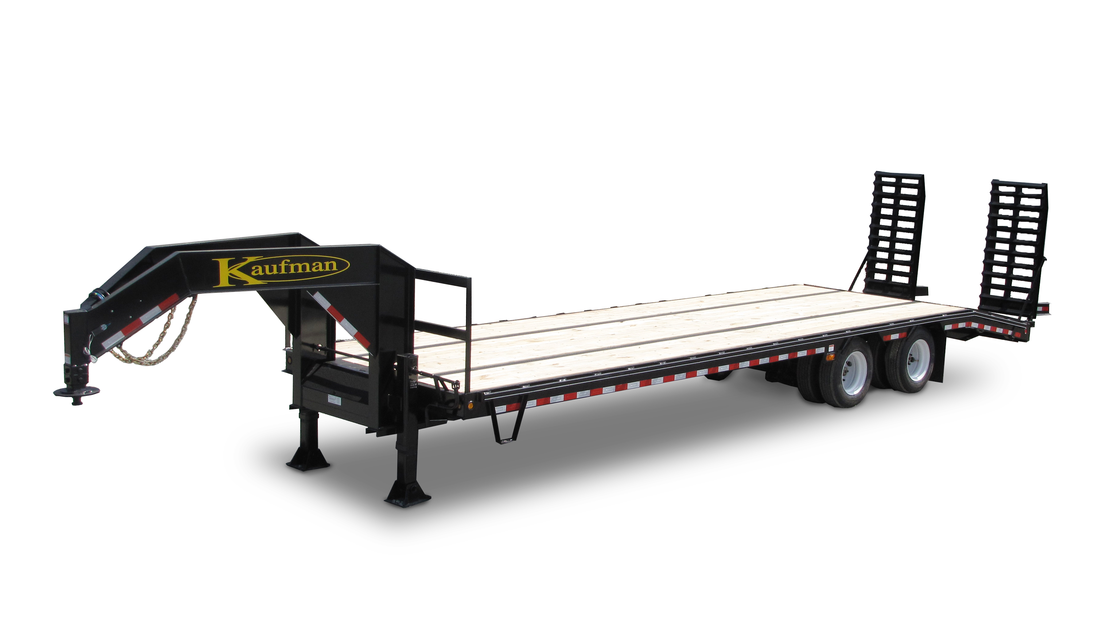 Gooseneck Flatbed Trailer for Sale by Kaufman Trailers