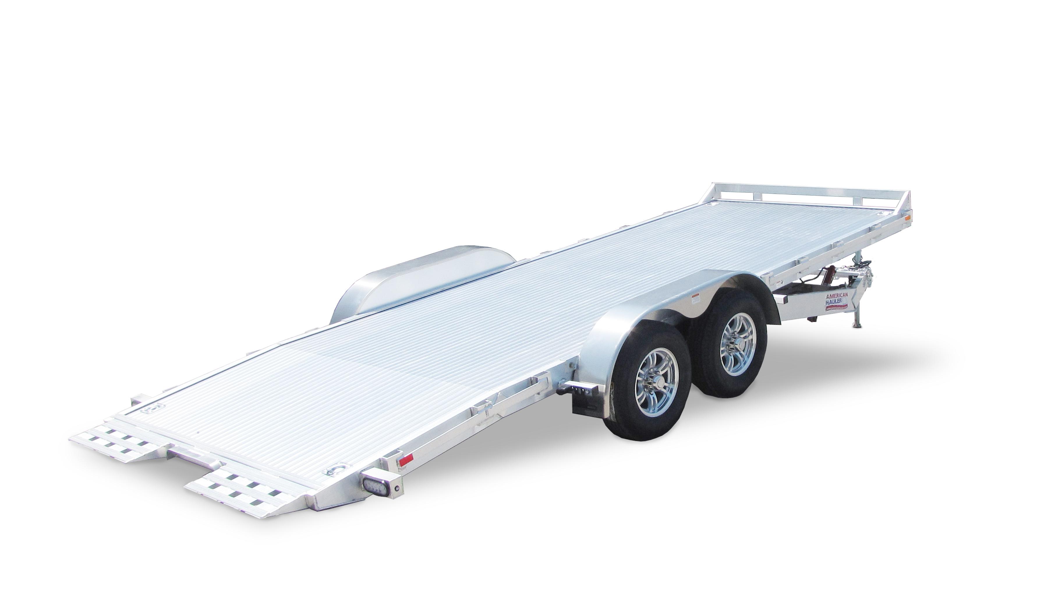 Aluminum Tilt Car Trailer