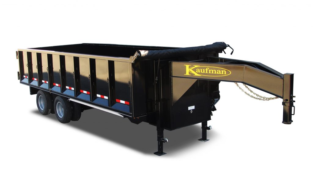 Tandem Dual Gooseneck Dump Trailer For Sale Kaufman