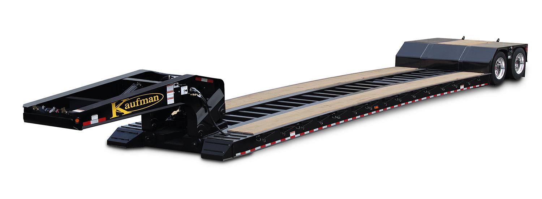 40 Ton - Detachable Gooseneck Trailer - No Deck On The Neck