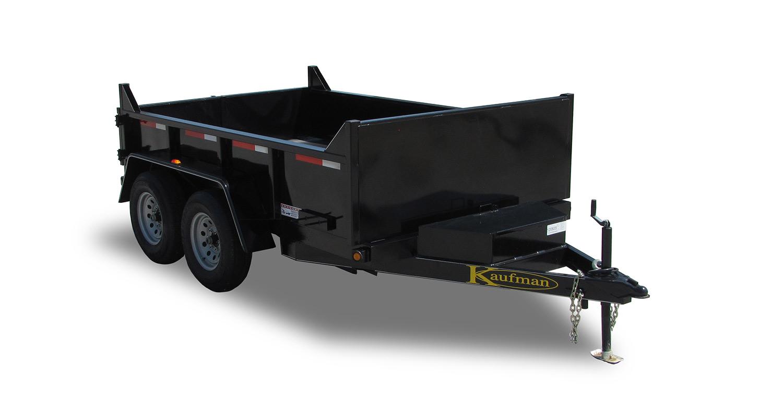 8000 GVWR Light Duty Dump Trailer -10 ft. x 72 in.