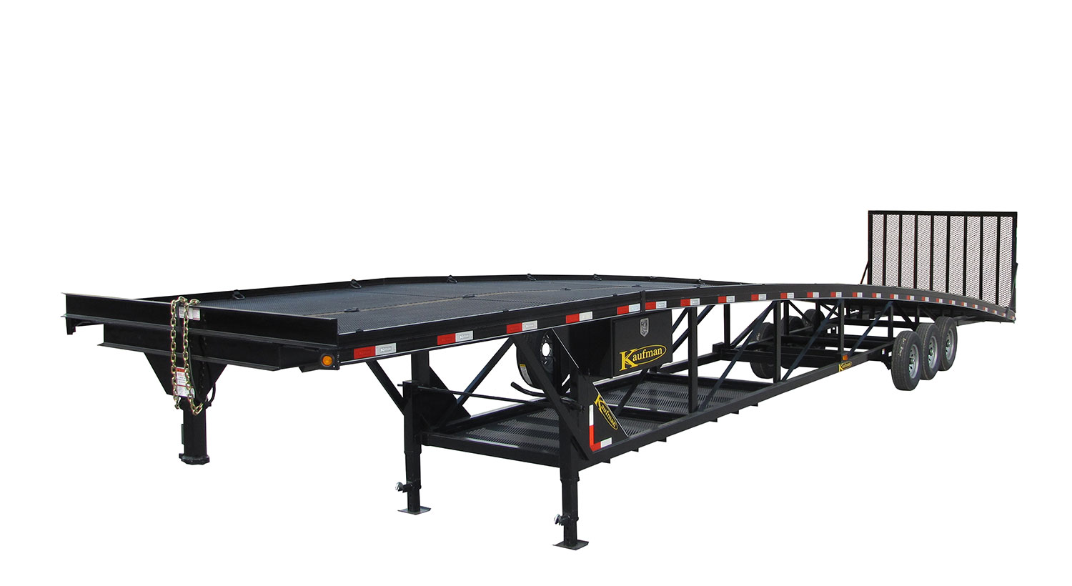 Wedge Golf Car Trailer - 14,000 to 18,000 GVWR 50 ft